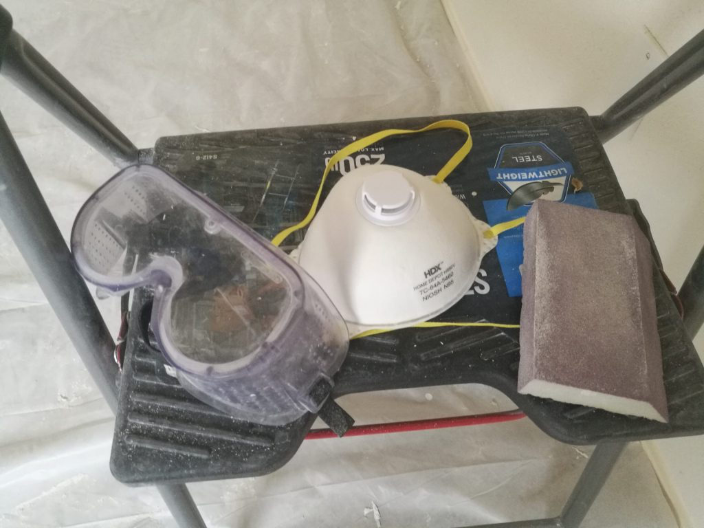 Drywall patching supplies