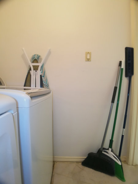 Laundry room - right side